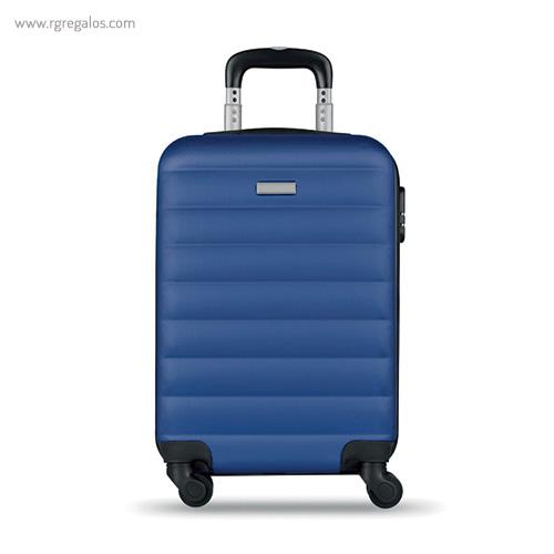 Trolley rígido de 20'' en ABS azul 1- RG regalos publicitarios