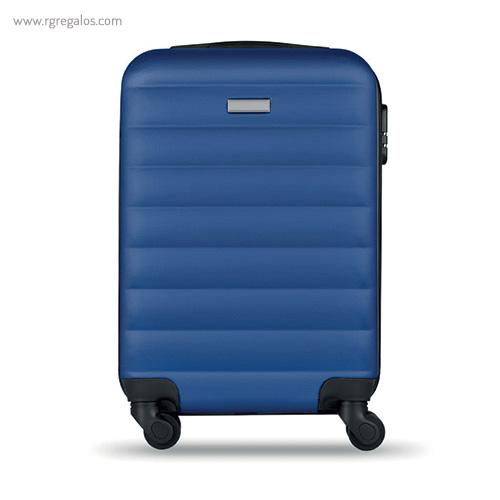 Trolley rígido de 20'' en ABS azul 2- RG regalos publicitarios