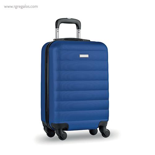 Trolley rígido de 20'' en ABS azul - RG regalos publicitarios