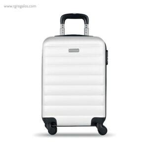 Trolley rígido de 20'' en ABS blanca 1- RG regalos publicitarios