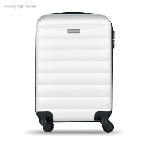 Trolley rígido de 20'' en ABS blanca 2- RG regalos publicitarios