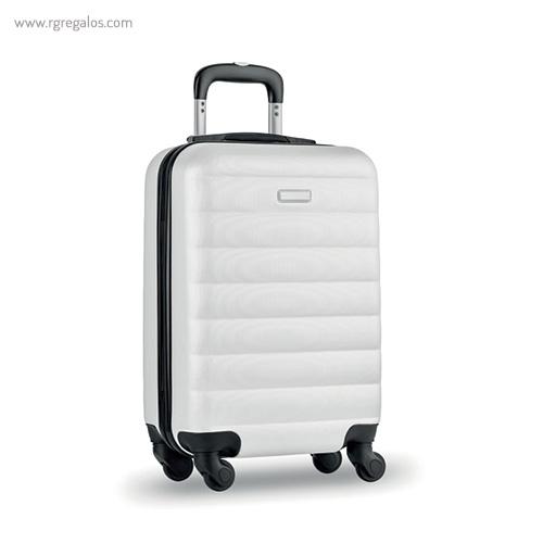 Trolley rígido de 20'' en ABS blanca - RG regalos publicitarios