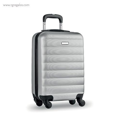 Trolley rígido de 20'' en ABS gris - RG regalos publicitarios