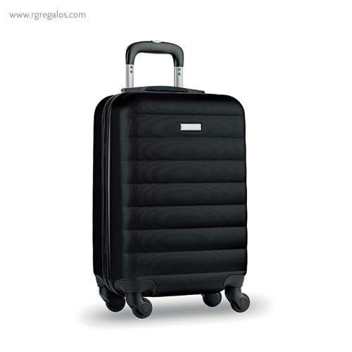 Trolley rígido de 20'' en ABS negro - RG regalos publicitarios