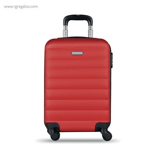 Trolley rígido de 20'' en ABS roja 1- RG regalos publicitarios