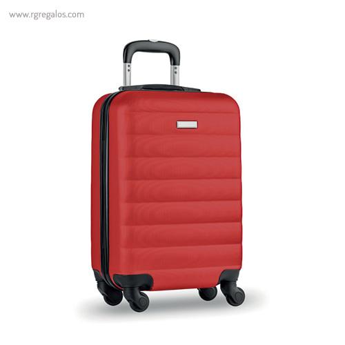 Trolley rígido de 20'' en ABS roja - RG regalos publicitarios