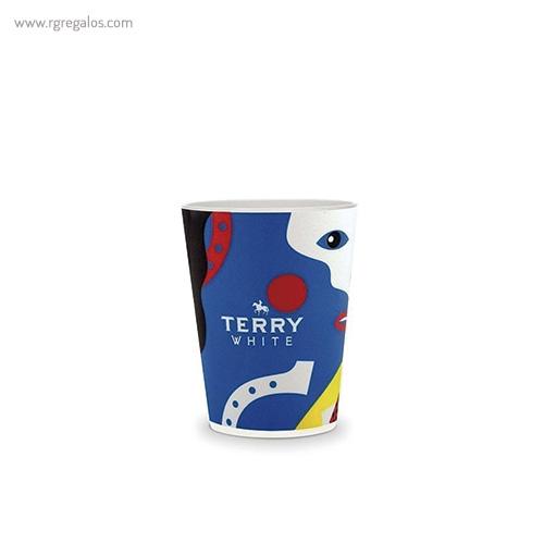 Vasos reutilizables personalizados 120 ml 1 - RG regalos publicitarios