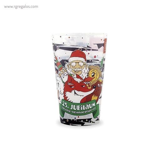 Vasos reutilizables personalizados 330 ml - RG regalos publicitarios