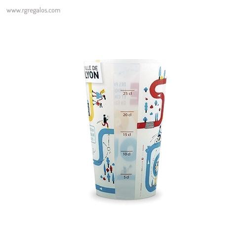 Vasos reutilizables personalizados 330ml 2 - RG regalos publicitarios