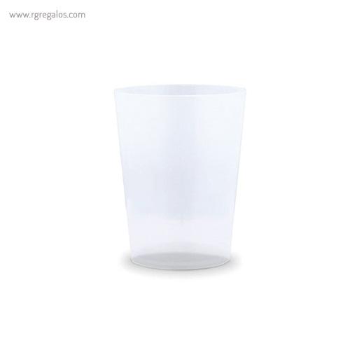 Vasos reutilizables personalizados translúcido - RG regalos publicitarios