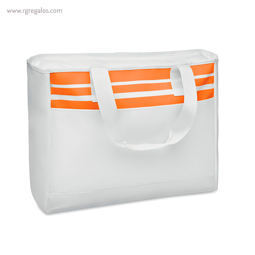 Bolsa de playa en poliéster 600D naranja - RG regalos publicitarios