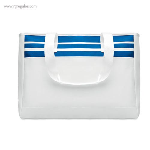 Bolsa de playa en poliéster azul - RG regalos publicitarios
