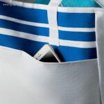 Bolsa de playa en poliéster bolsillo - RG regalos publicitarios