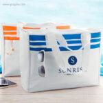 Bolsa de playa en poliéster con logo - RG regalos publicitarios