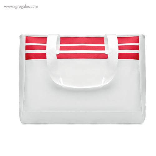Bolsa de playa en poliéster roja - RG regalos publicitarios