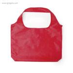 Bolsa plegable en suave poliéster roja - RG regalos publicitarios