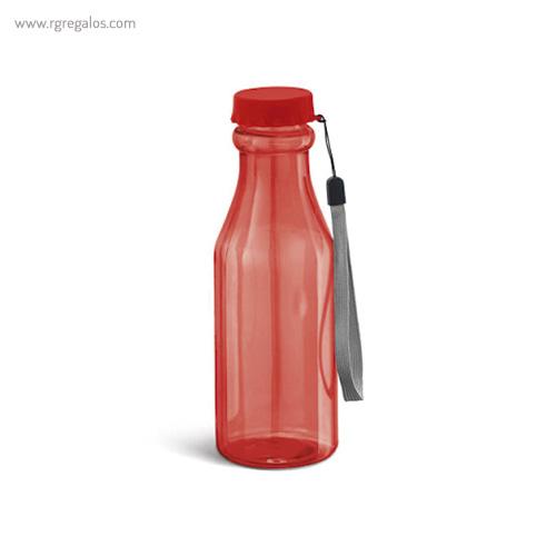 Botella de deporte de tritán roja - RG regalos publicitarios