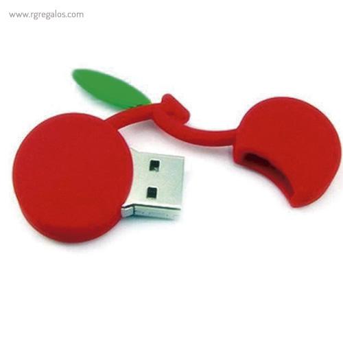 Memoria USB formas frutas cerezas - RG regalos promocionales