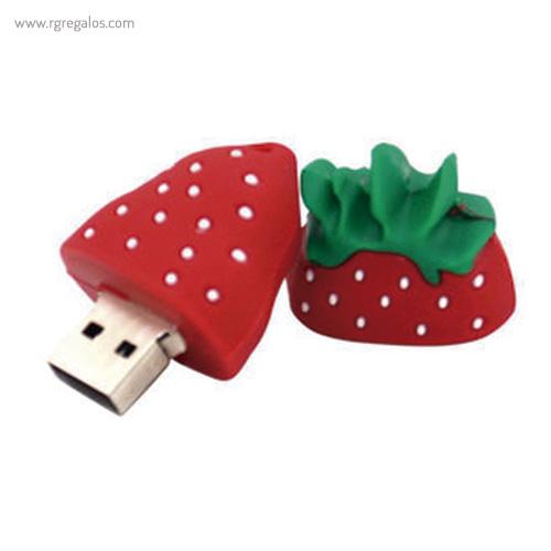 Memoria USB formas frutas fresa - RG regalos promocionales