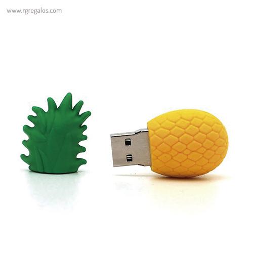 Memoria USB formas frutas piña - RG regalos promocionales