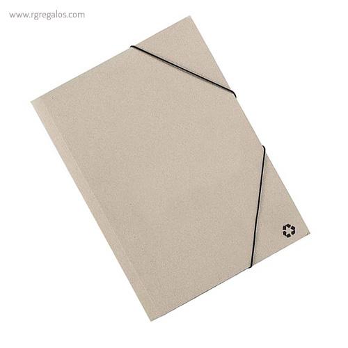 Carpeta en cartón reciclado ecológica - RG regalos publicitarios