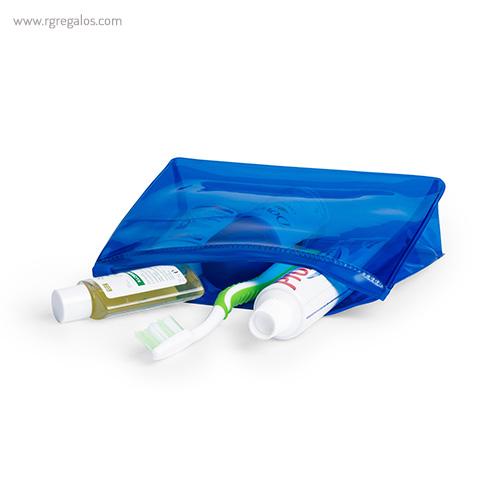 Neceser publicitario barato en PVC detalle - RG regalos publicitarios