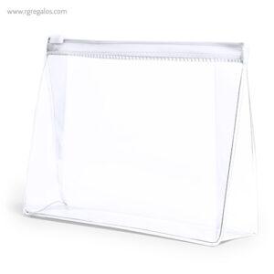 Neceser publicitario barato en PVC transparente - RG regalos publicitarios