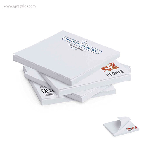 Taco de notas adhesivo - RG regalos publicitarios