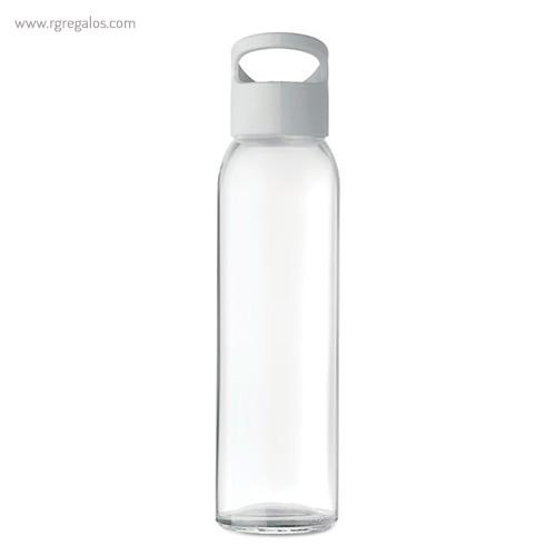 Botella de cristal y tapa de PP transparente 470 ml - RG regalos
