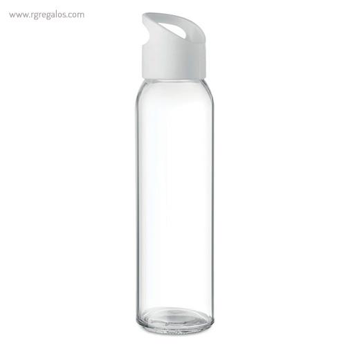 Botella de cristal y tapa de PP transparente - RG regalos