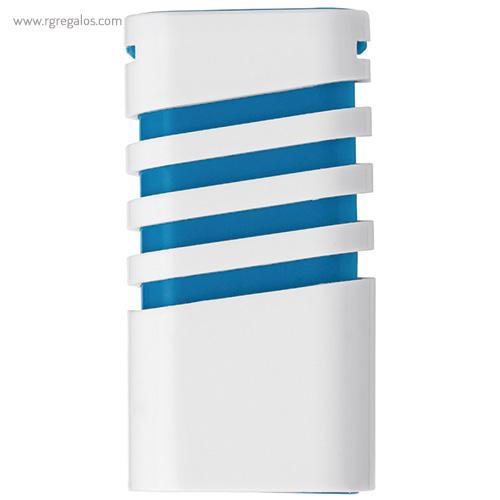 Dispensador de mentolados azul abierto - RG regalos publicitarios