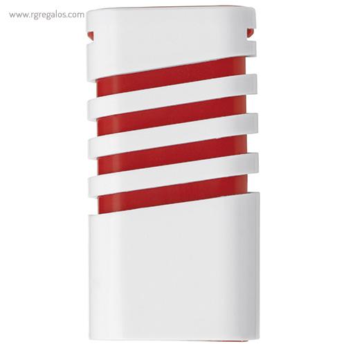Dispensador de mentolados rojo frontal - RG regalos publicitarios