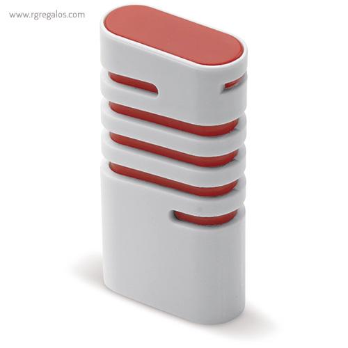 Dispensador de mentolados rojo lateral - RG regalos publicitarios