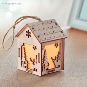 Adorno casa con luz motivos navideños - RG regalos promocionales