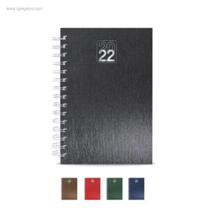 Agenda-2022-efecto-metalizado-RG-regalos-publicitarios