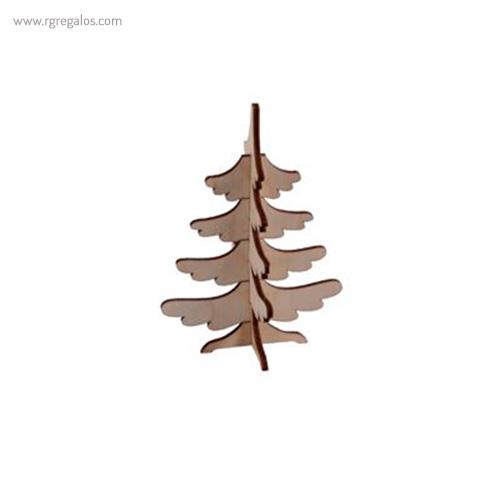 Tarjeta Navidad con puzzle árbol - RG regalos publiciatarios