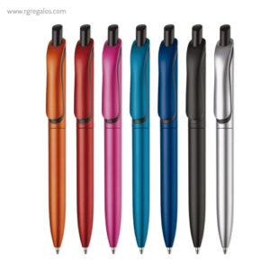 Bolígrafo colores metalizados - RG regalos publicitarios