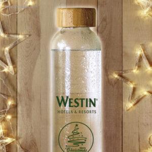 Botella bambú Navidad - RG regalos de empresa