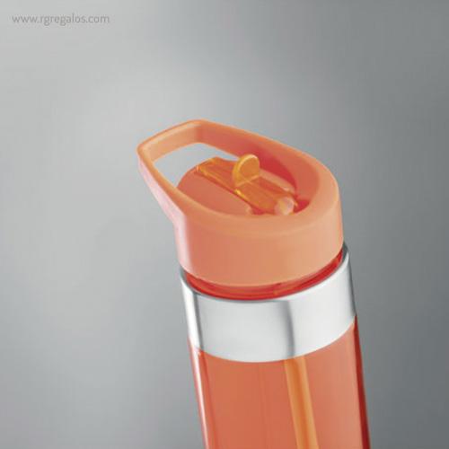 Botella de tritán con boquilla 650 ml detalle - RG regalos promocionales