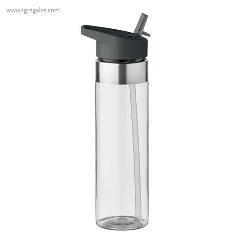 Botella de tritán con boquilla 650 ml transparente - RG regalos promocionales