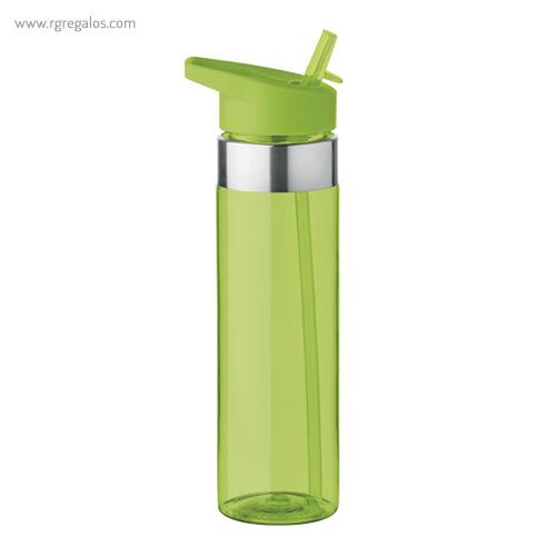 Botella de tritán con boquilla 650 ml verde - RG regalos promocionales