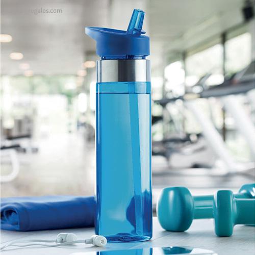 Botella de tritán con boquilla plegable - RG regalos promocionales