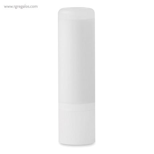 Bálsamo labial translúcido blanco - RG regalos publicitarios