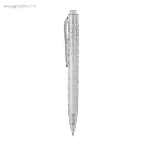 Bolígrafo-fabricado-en-RPET-transparente-RG-regalos
