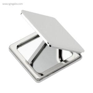 Espejo doble cuadrado blanco - RG regalos publicitarios