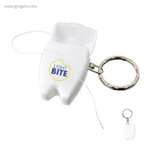 LLavero con hilo dental - RG regalos promocionales