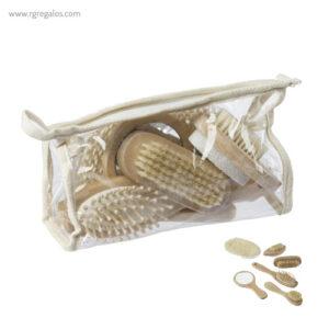 Set baño piezas madera - RG regalos promocionales