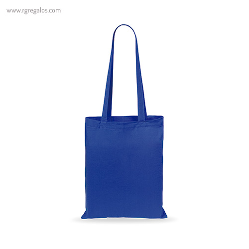 Bolsa 100% algodón barata azul - RG regalos publicitarios