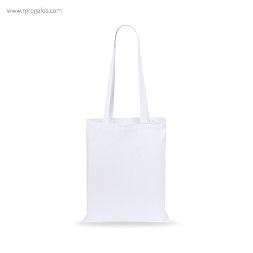 Bolsa 100% algodón barata blanca - RG regalos publicitarios