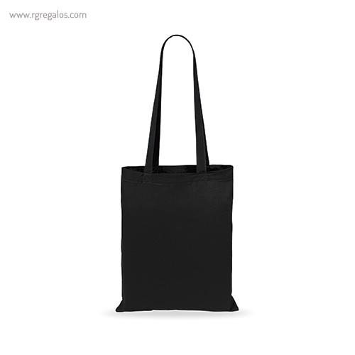 Bolsa 100% algodón barata negra - RG regalos publicitarios